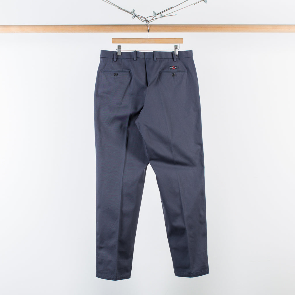 ARCHIVE SALE - COBRA S.C. - CLASSIC TROUSERS - CHARCOAL TWILL