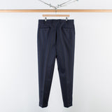 ARCHIVE SALE - COBRA S.C. - CLASSIC TROUSERS NAVY PINSTRIPE
