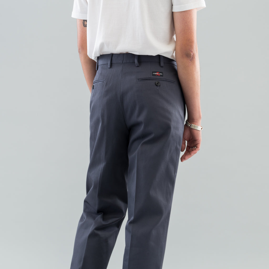 CLASSIC TROUSERS - CHARCOAL TWILL
