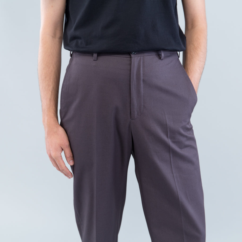 CLASSIC TROUSERS - GREY TWILL