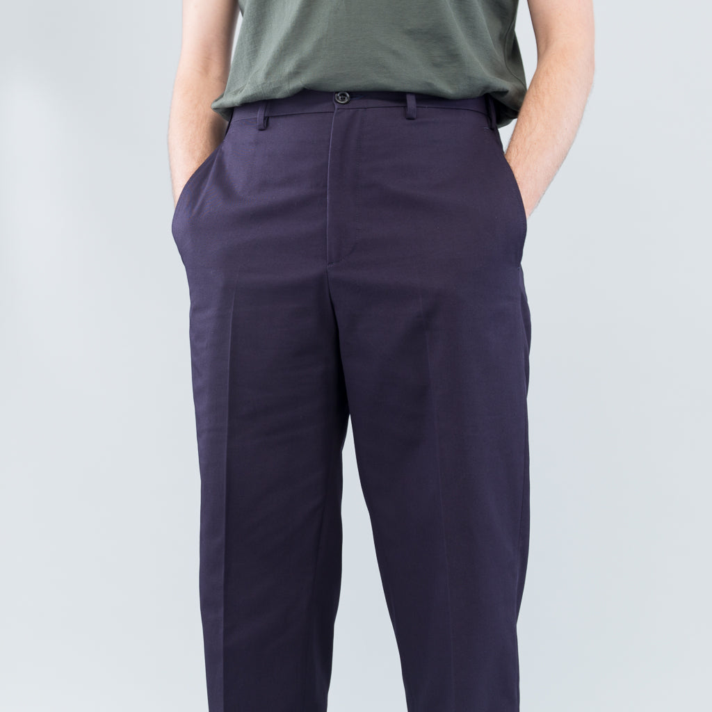 CLASSIC TROUSERS - NAVY TWILL