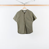 ARCHIVE SALE - DANA LEE - EASY SHIRT PREMIUM TWILL OLIVE