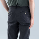 CROPPED PANTS - CHARCOAL GRAY