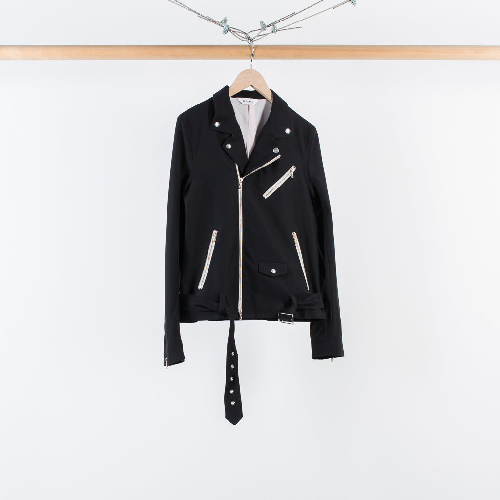 ARCHIVE SALE - DIGAWEL - RIDERS JACKET BLACK