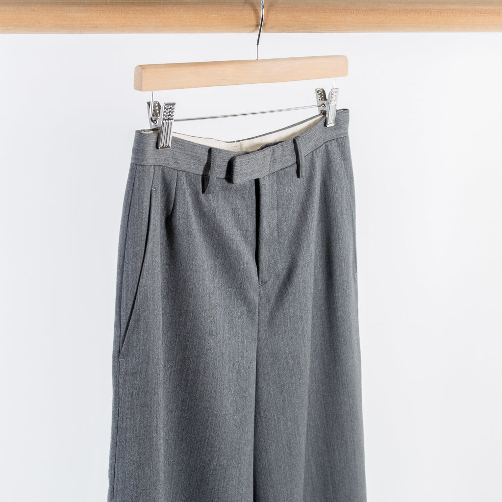 ARCHIVE SALE - DIGAWEL - WIDE TROUSERS GREY