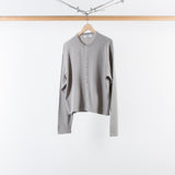 ARCHIVE SALE - DIGAWEL - KNIT & SEWN CARDIGAN GRAY