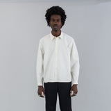 RIPSTOP COTTON SHIRT - IVORY