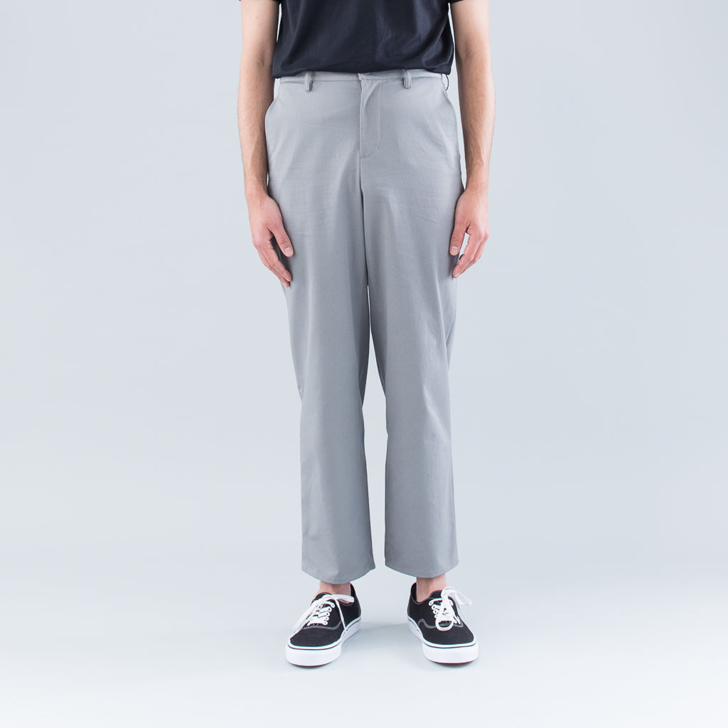 SLIM PANTS - GRAY