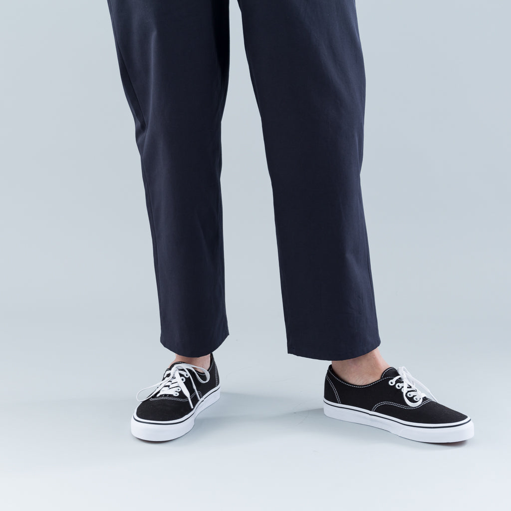 SLIM PANTS - NAVY