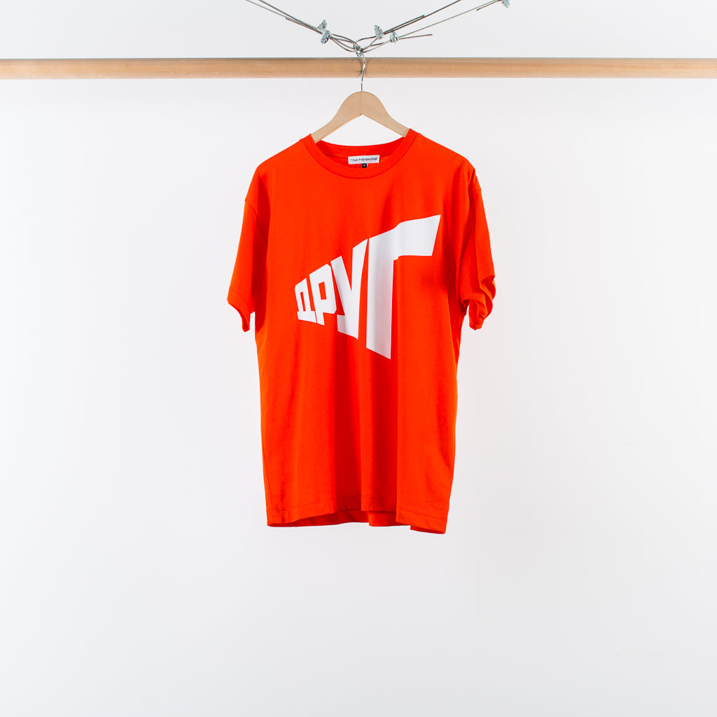 ARCHIVE SALE - GOSHA RUBCHINSKIY - GRAPHIC T-SHIRT RED