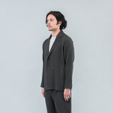 WOOL-LIKE LIGHT BLAZER - GREY