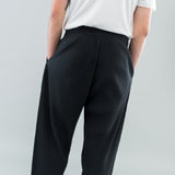 BASICS TAPERED TROUSER - BLACK
