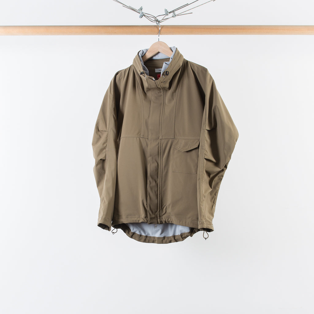 ARCHIVE SALE - NONNATIVE - CYCLIST JACKET WINDSTOPPER EUCALYPTUS