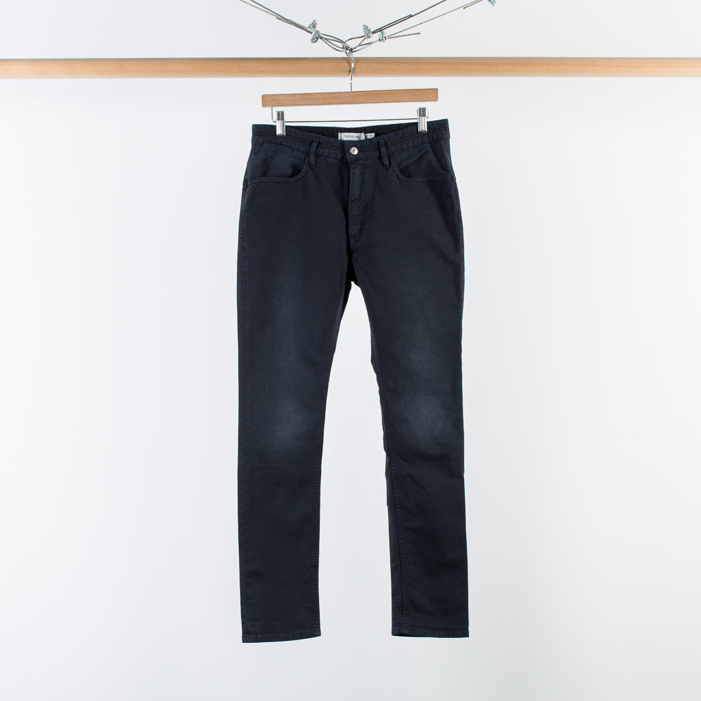 DWELLER 5P JEANS OXFORD BLACK
