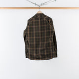ARCHIVE SALE - NONNATIVE - DWELLER B.D. COTTON TYPEWRITER PLAID BEIGE