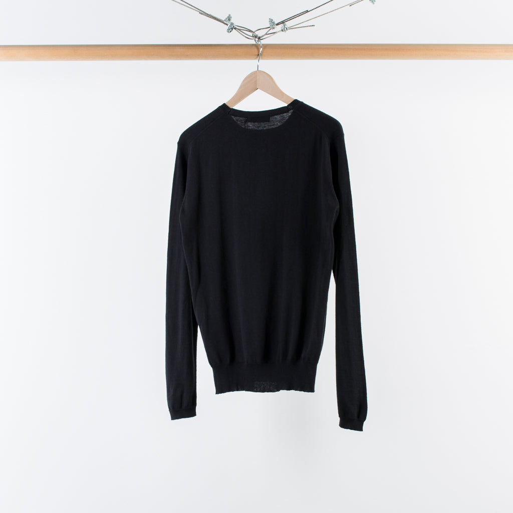 ARCHIVE SALE - NONNATIVE - DWELLER SWEATER BLACK