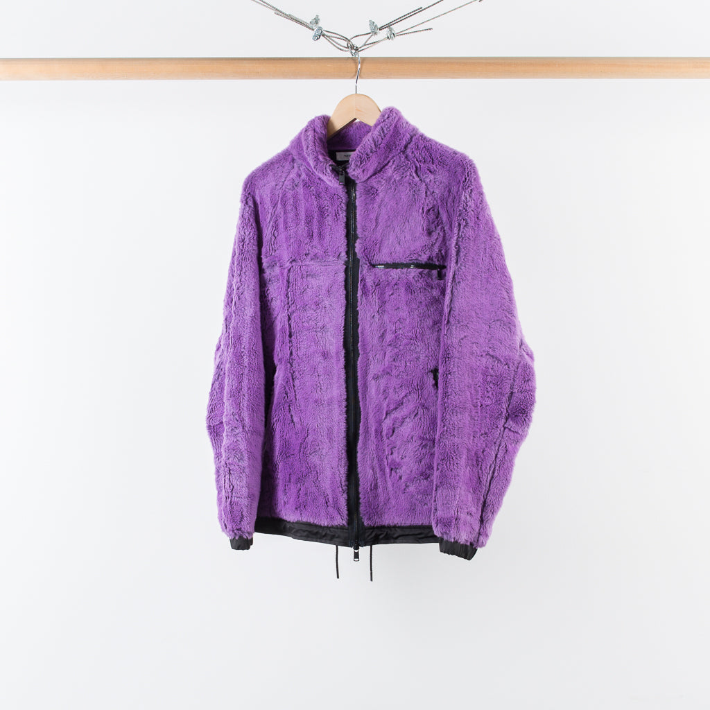 ARCHIVE SALE - NONNATIVE - EXPLORER JACKET HIGH PILE LAVENDER