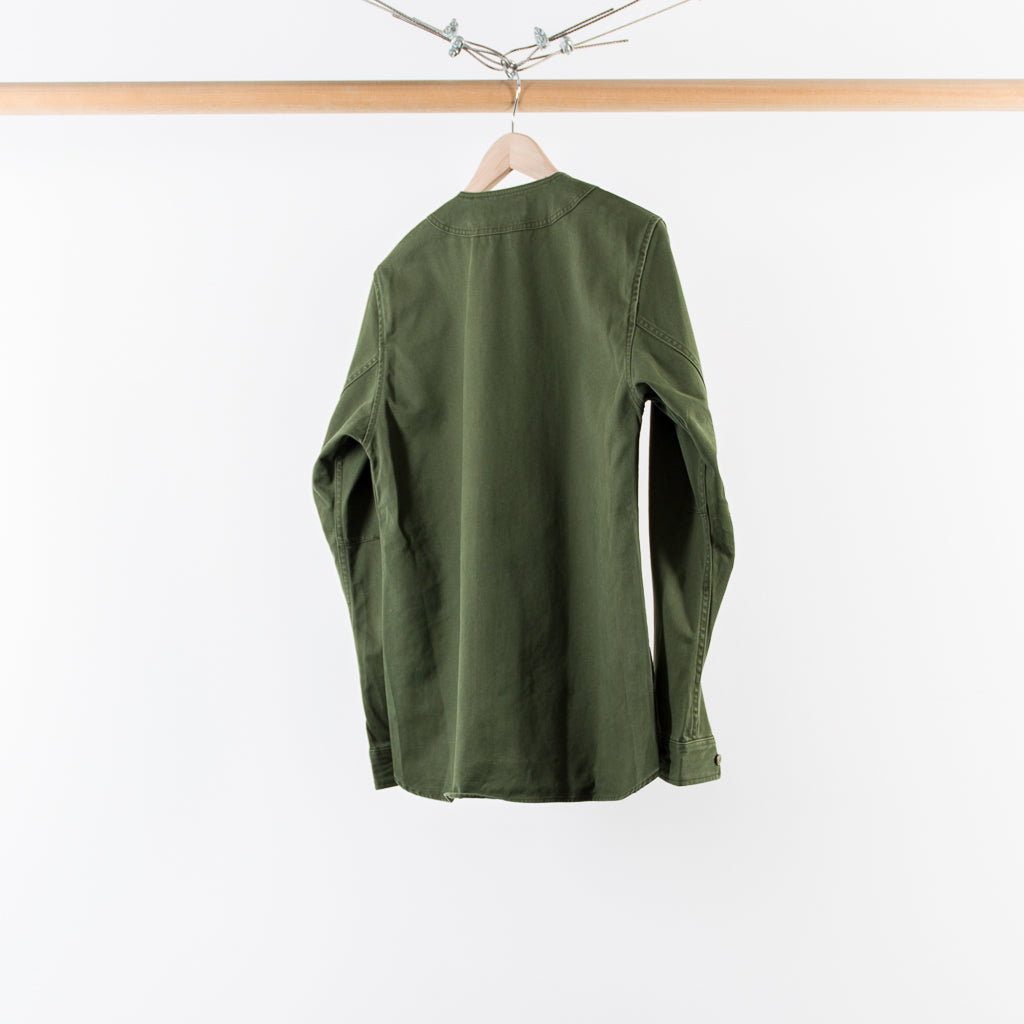 ARCHIVE SALE - NONNATIVE - HANDYMAN SHIRT OLIVE TWILL