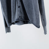 ARCHIVE SALE - NONNATIVE - HUNTER CARDIGAN COTTON YARN VW NAVY