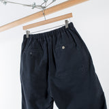 ARCHIVE SALE - NONNATIVE - MANAGER EASY SHORTS COTTON GROSGRAIN BLACK