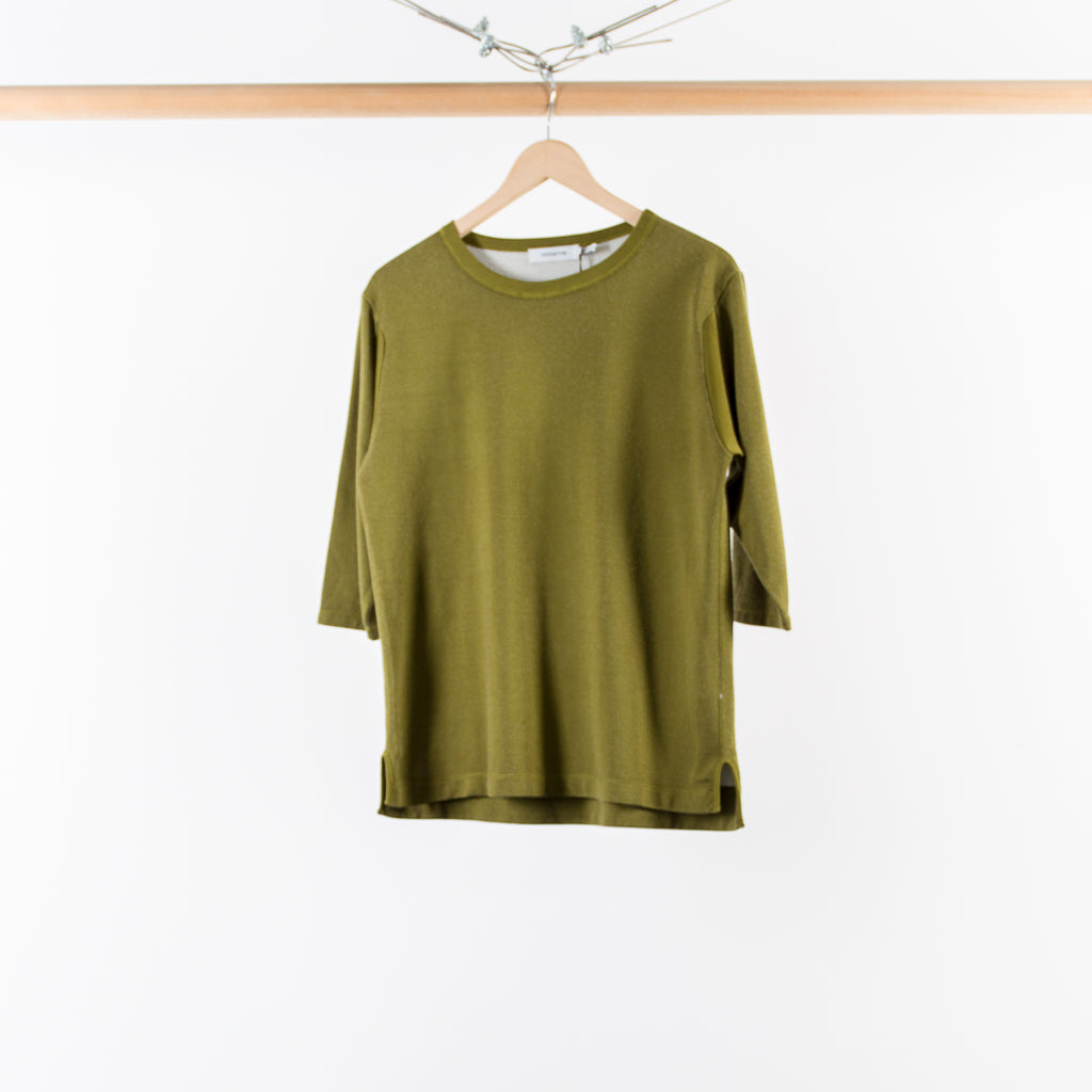 ARCHIVE SALE - NONNATIVE - TROOPER CREW QS OLIVE
