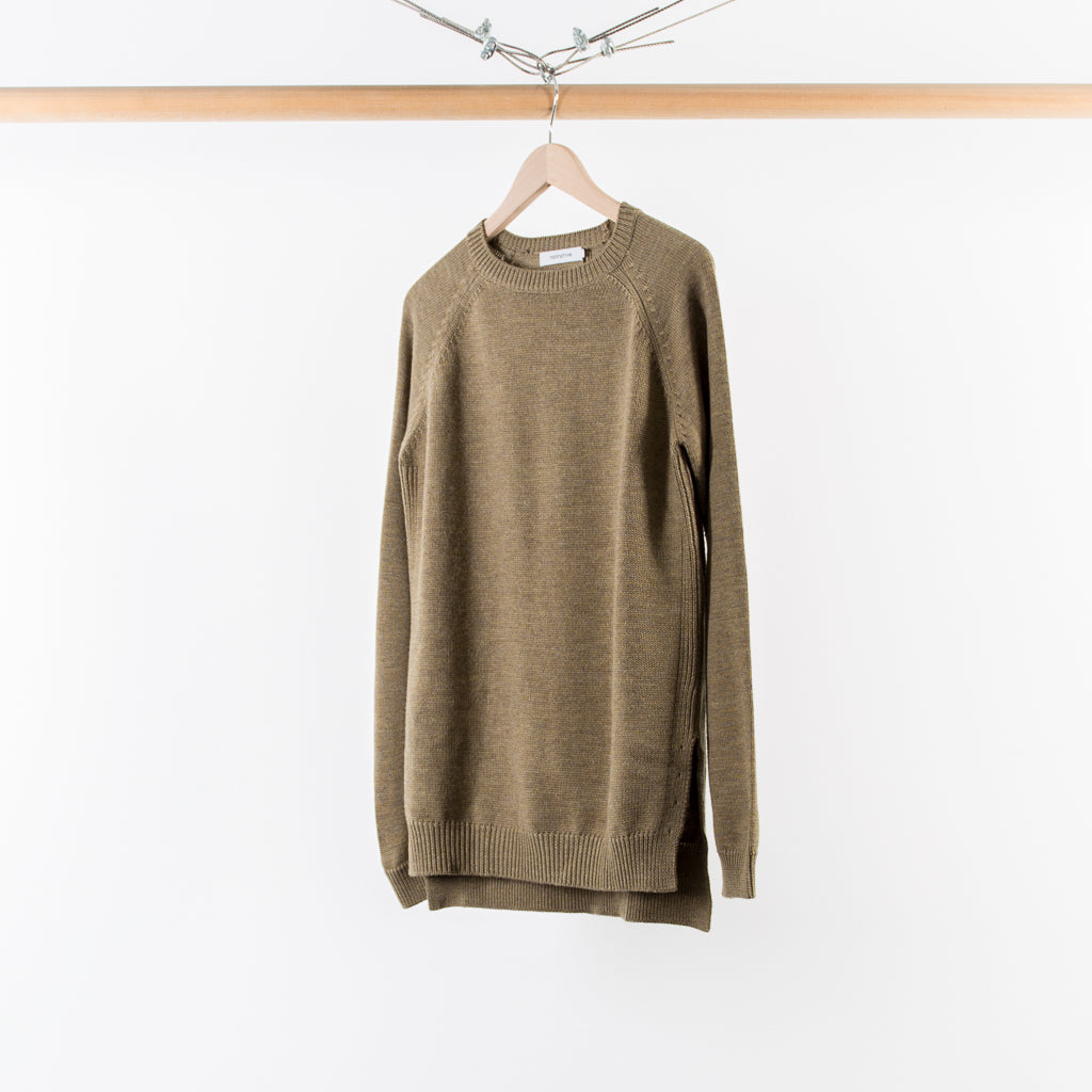 ARCHIVE SALE - NONNATIVE - TROOPER SWEATER BEIGE