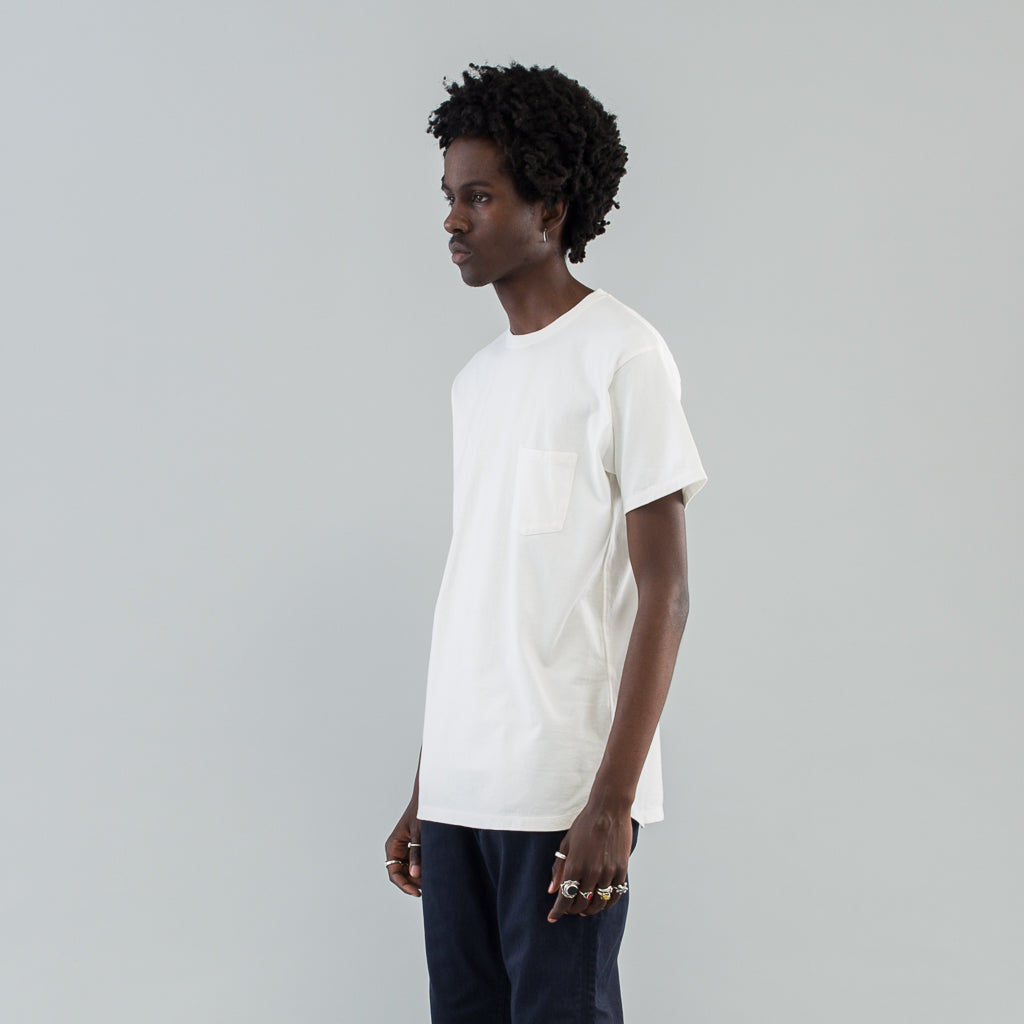 DWELLER S/S TEE COTTON JERSEY - WHITE