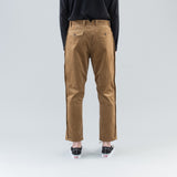 OUTSEAM TROUSERS - CAMEL CORDUROY