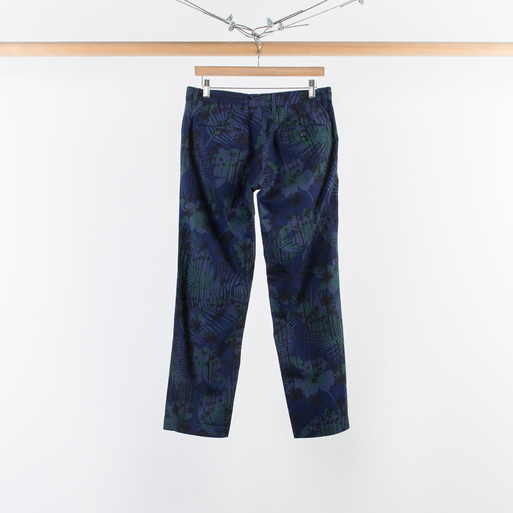 OVERDYED TRAVEL TROUSERS SUNNY DAY PRINT