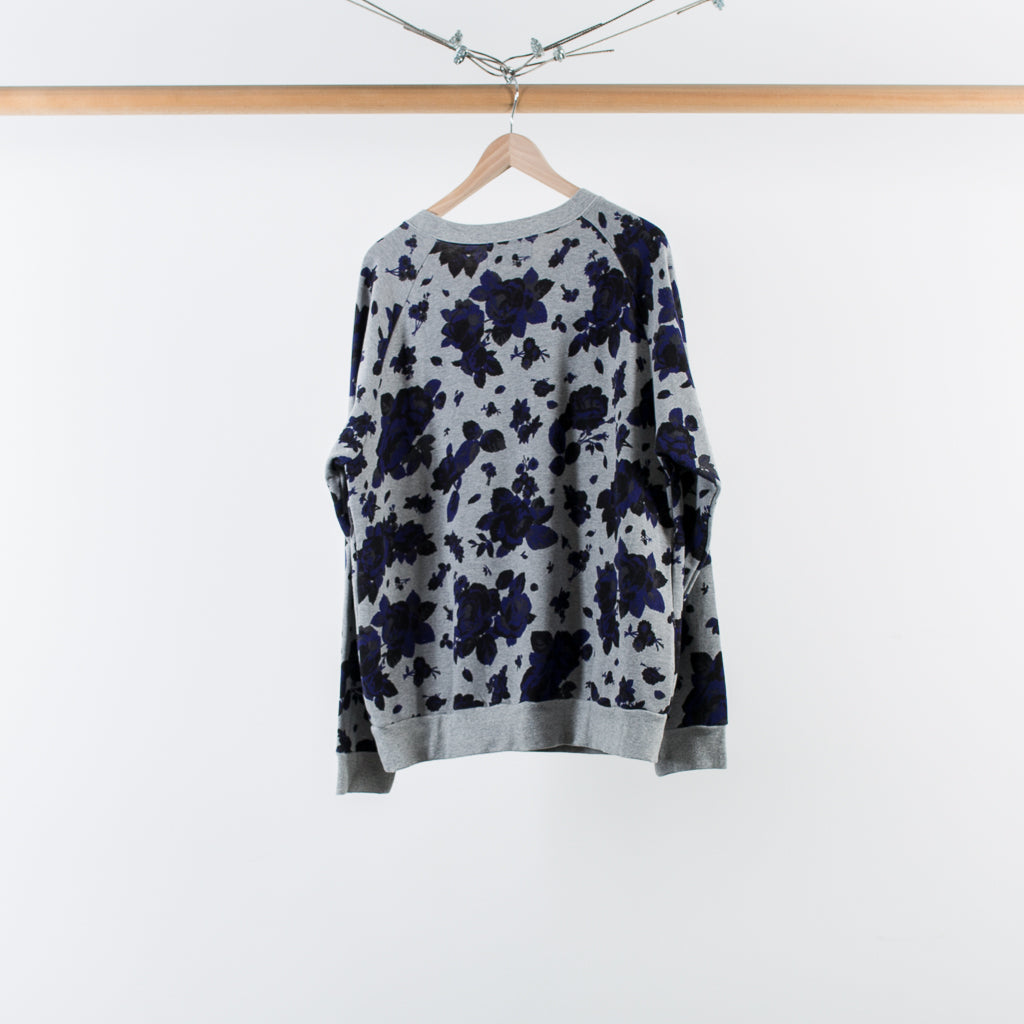 ARCHIVE SALE - NOMA T.D. - ROSE SWEATSHIRT GREY