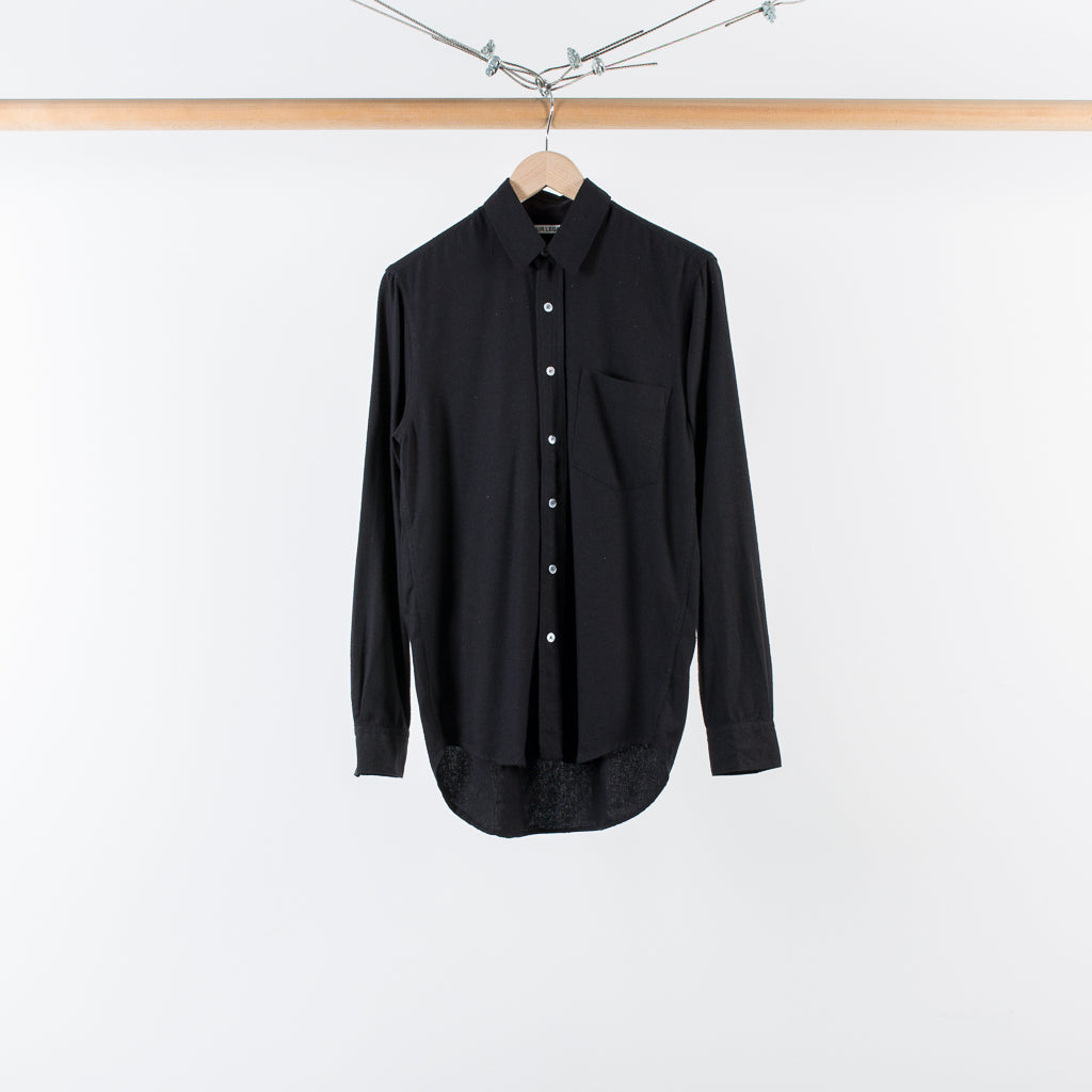 ARCHIVE SALE - OUR LEGACY - CLASSIC SHIRT BLACK SILK