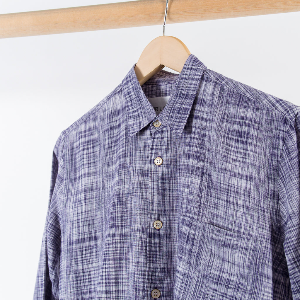 ARCHIVE SALE - OUR LEGACY - FIRST SHIRT HANDLOOM CHECK