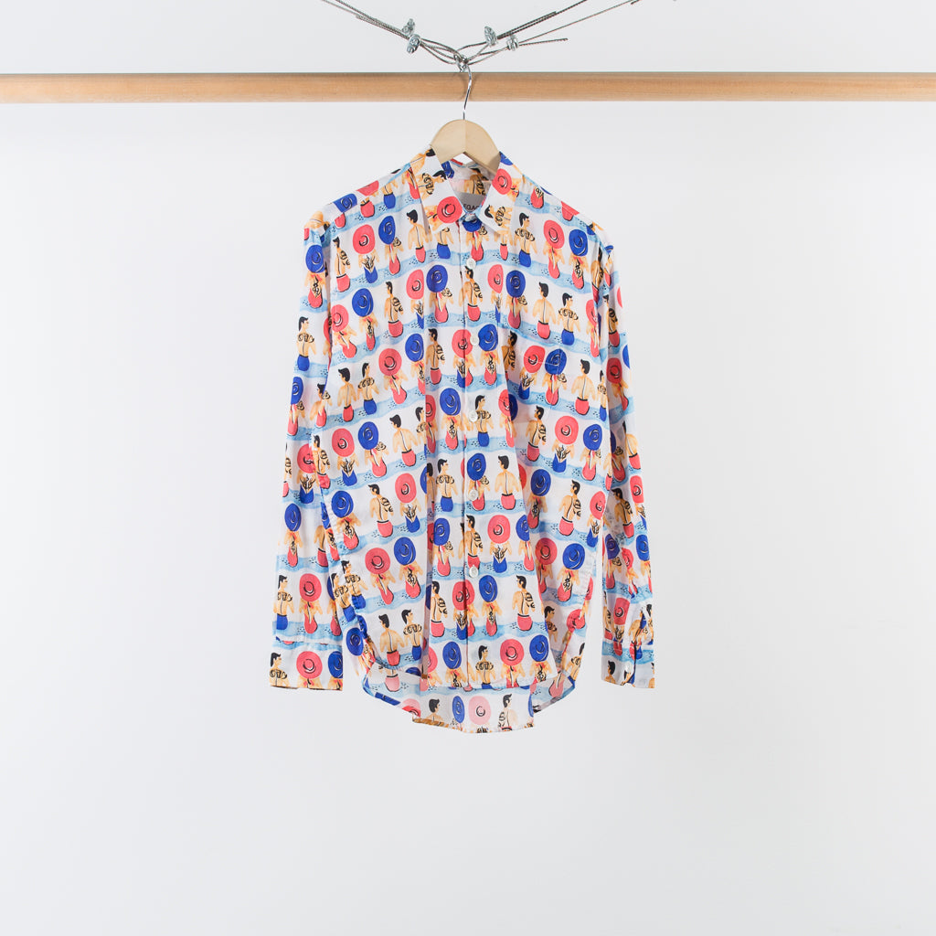 ARCHIVE SALE - OUR LEGACY - INITIAL SHIRT BEACH 2017 PRINT
