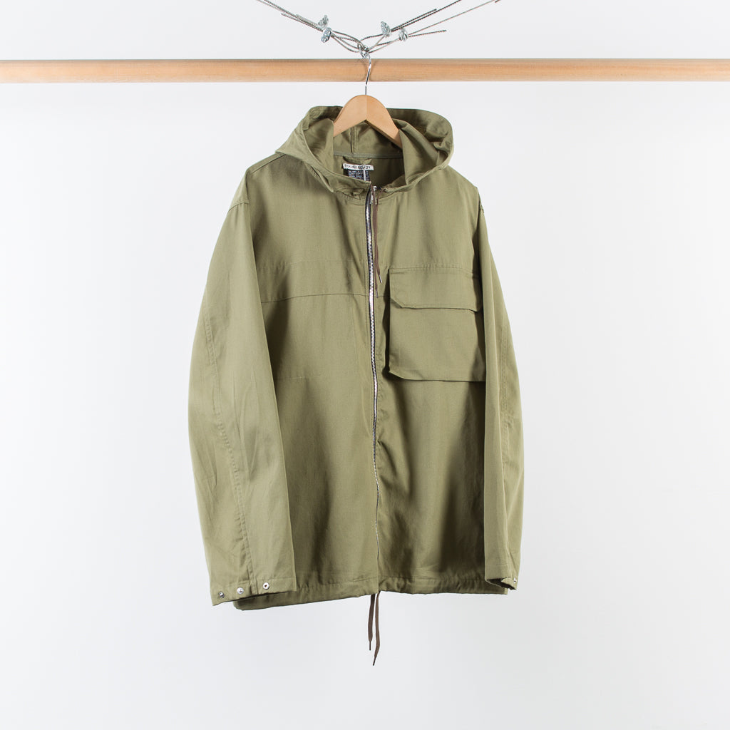 ARCHIVE SALE - OUR LEGACY - LIZARD PARKA OLIVE TWILL