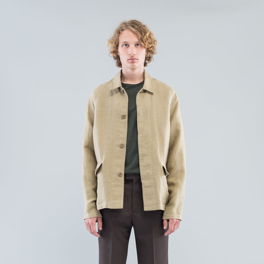 ARCHIVE SUIT JACKET - RAW OLIVE