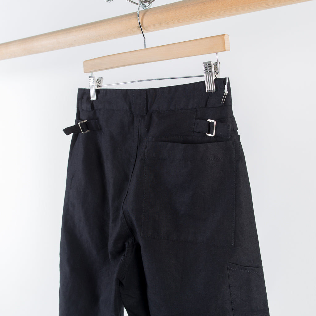 ARCHIVE SALE - OUR LEGACY - BUCO SHORTS BLACK