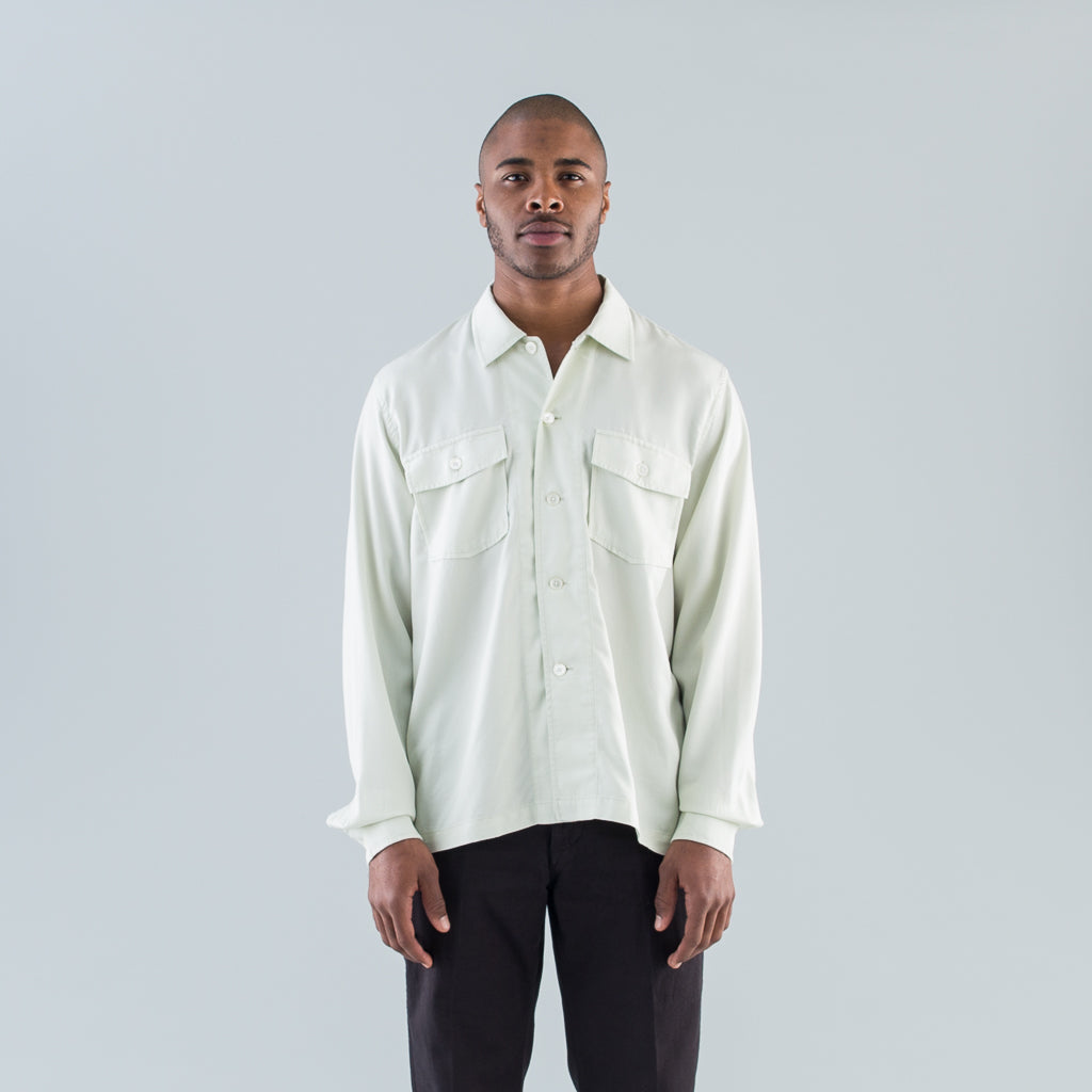 CHAMOIS SHIRT - TRANSLUCENT DIRT WHITE