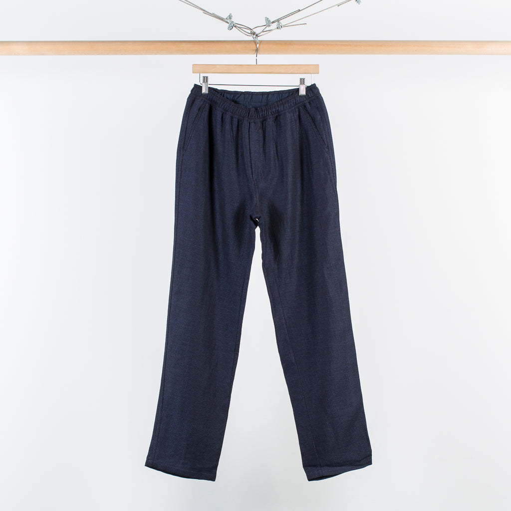 ARCHIVE SALE - OUR LEGACY - RELAXED TROUSERS INDIGO TWILL