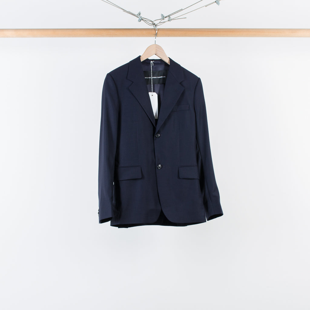 ARCHIVE SALE - OUR LEGACY - CONTROL BLAZER NAVY WOOL