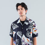 BOX SHORT SLEEVE - CRUSHED TILES PRINT