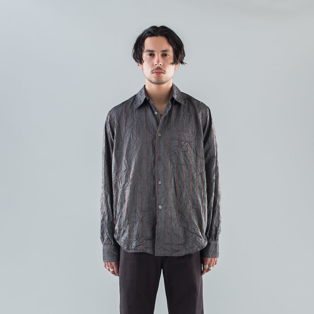 POLICY SHIRT - CRUSHED MEMORY STRIPE