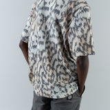 BOX SHIRT SHORTSLEEVE - TIGER PRINT