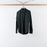 ARCHIVE SALE - PATRIK ERVELL - DEEP EMERALD STITCHLESS BUTTONDOWN