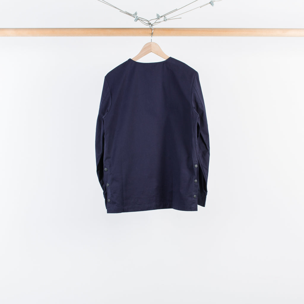 SNAP VENT TOP NAVY