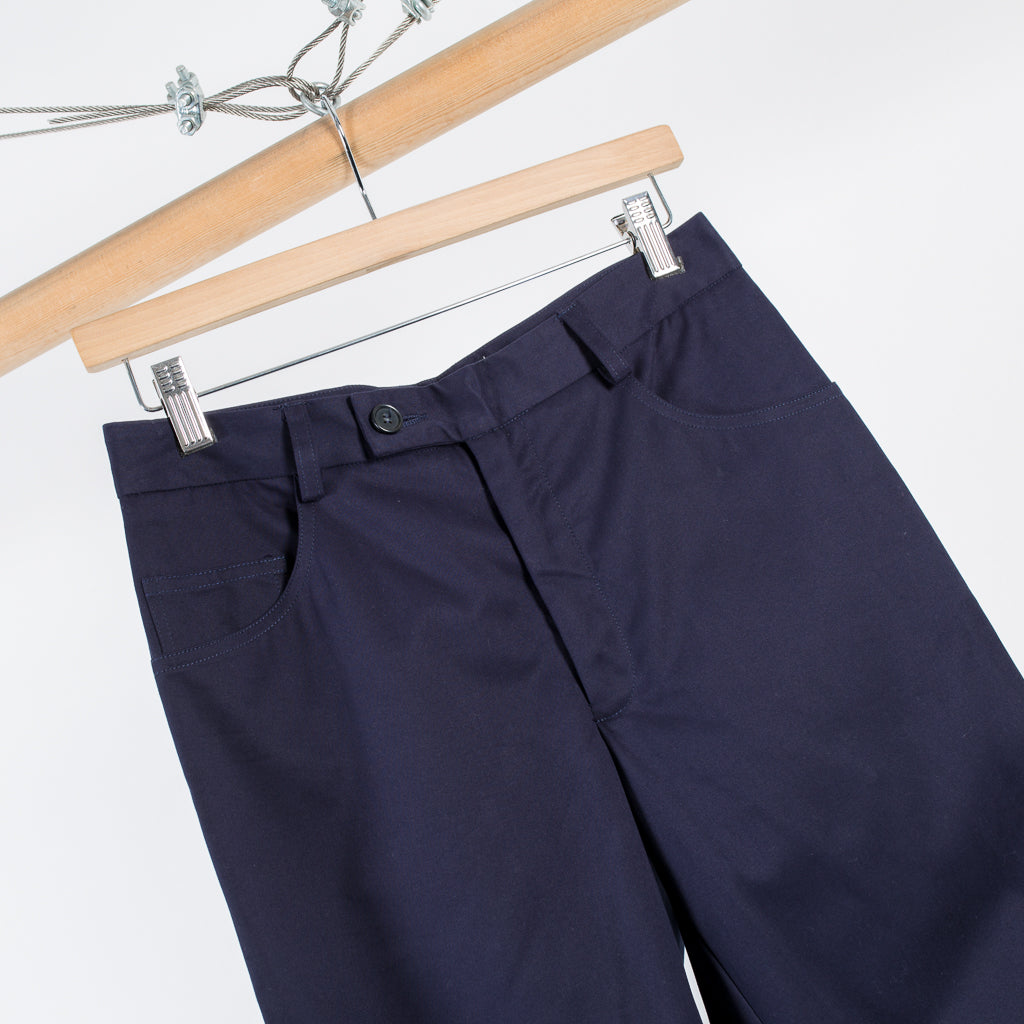ARCHIVE SALE - PROPER GANG - FIVE POCKET CROPPED PANT NAVY