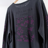 ARCHIVE SALE - ROBERT GELLER - SLEEVE PRINT L/S CHARCOAL