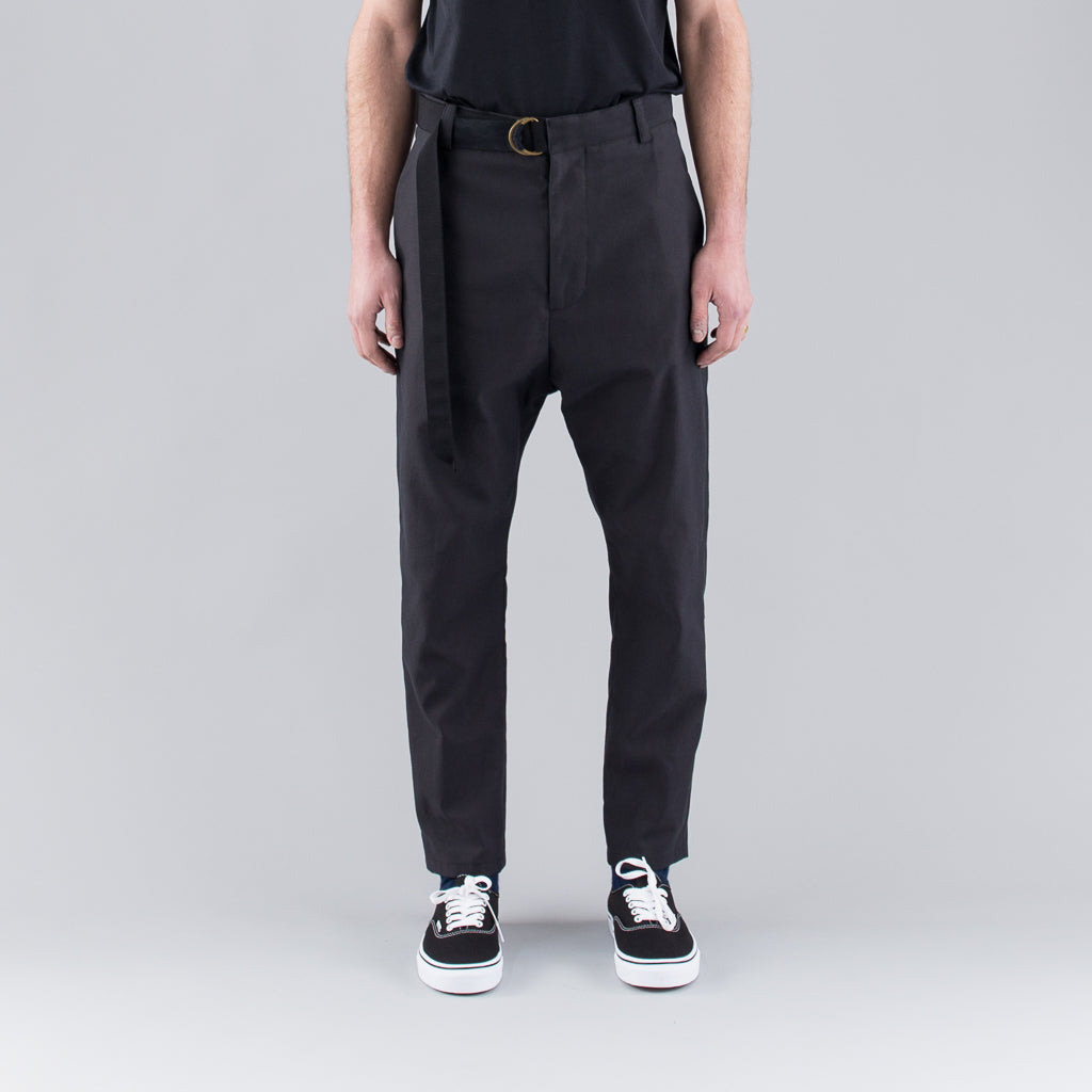 THE CORNELIUS TROUSER - BLACK
