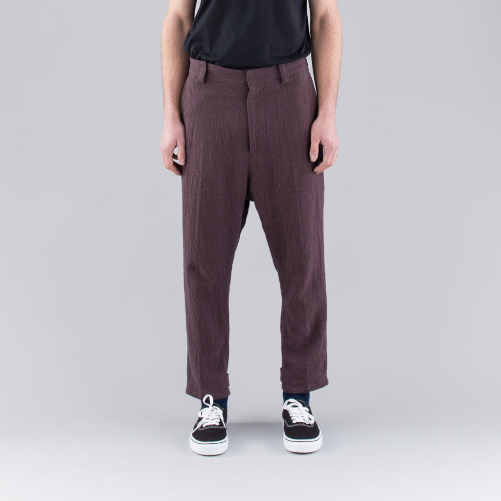 THE LINEN PANT - CHARCOAL