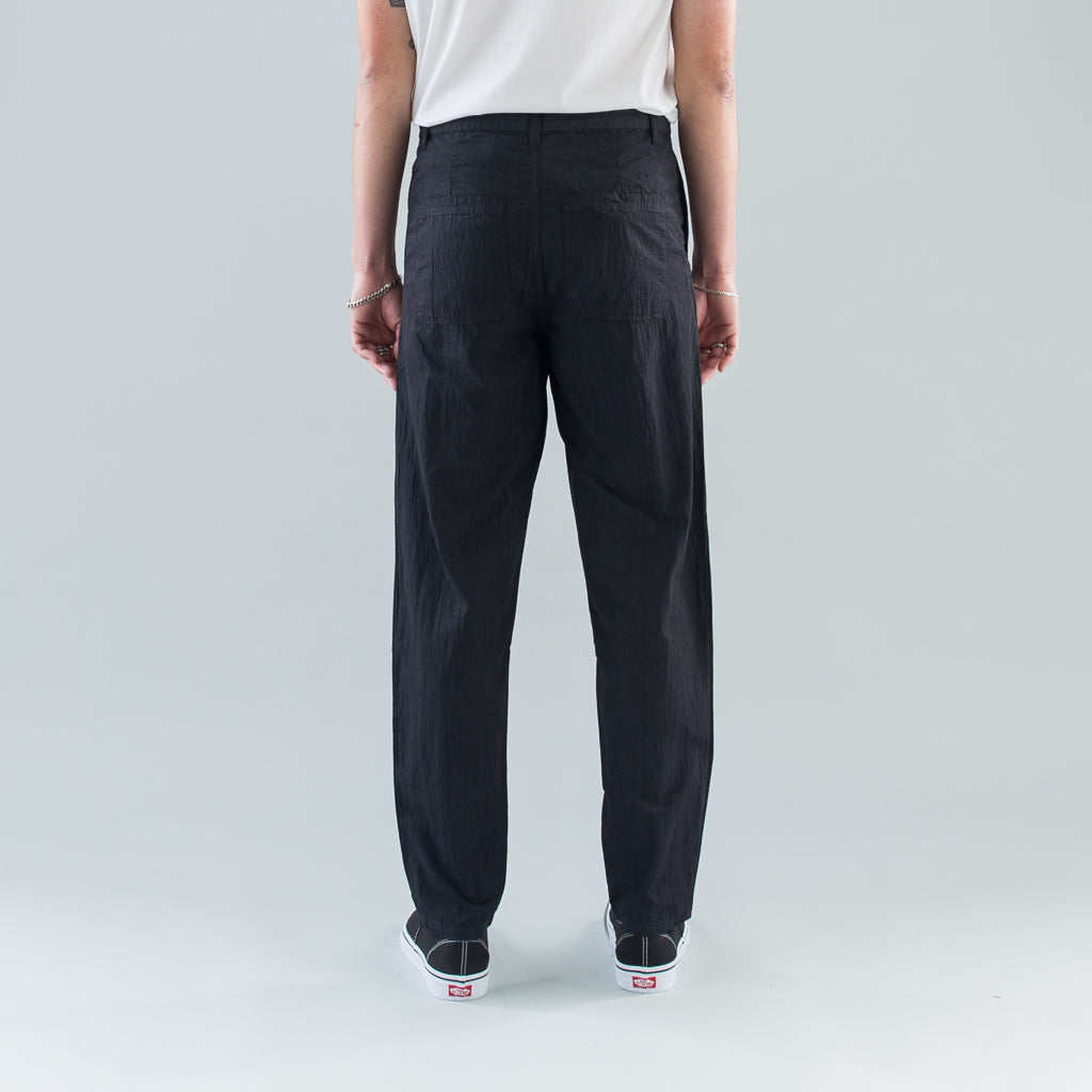 THE TEXTURED PANT - BLACK
