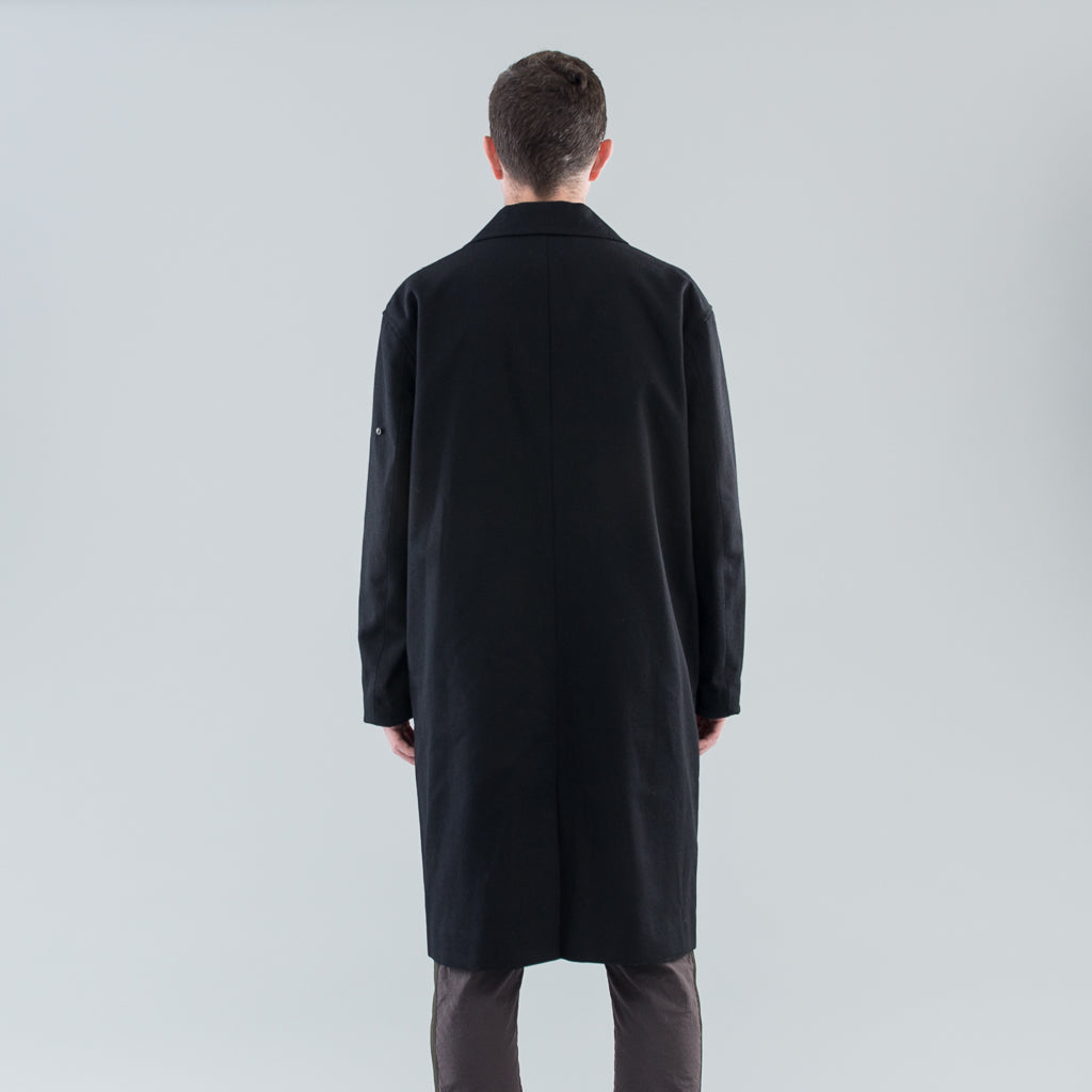 THE MARCEL COAT - BLACK